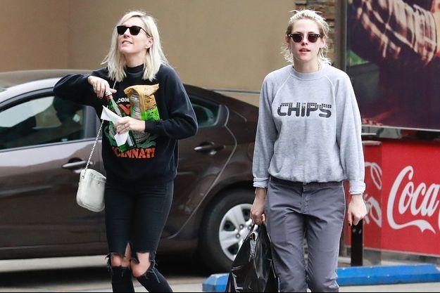 Dylan Meyer et Kristen Stewart à Los Angeles en mars 2020