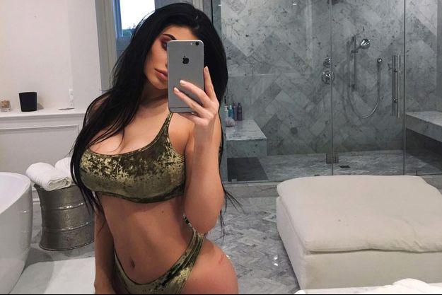 Kylie Jenner a pris un dernier selfie d'elle en 2016.