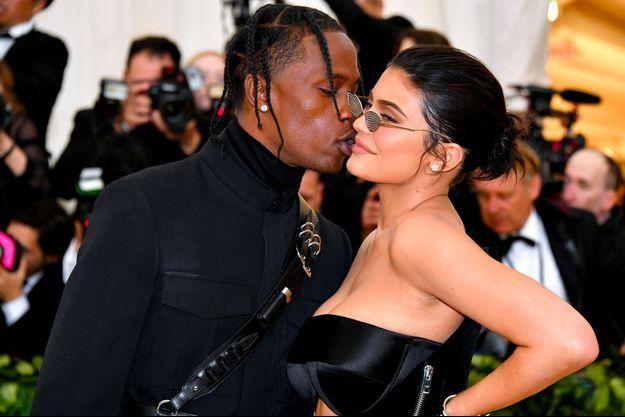 Kylie Jenner et Travis Scott au MET Gala le 7 mai 2018