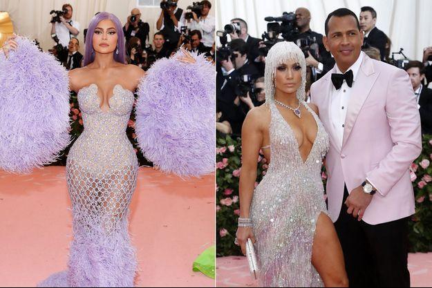Kylie Jenner, Jennifer Lopez et Alex Rodriguez au gala du Met 2019