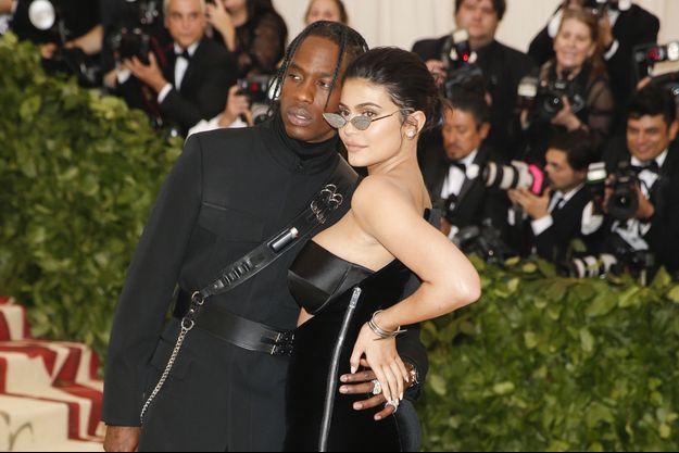 Kylie Jenner et Travis Scott au Met Ball en mai 2018