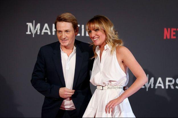 Benoît Magimel et Margot Pelletier en mai 2016
