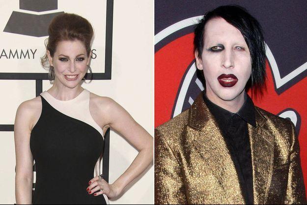 L'actrice britannique Esmé Bianco a porté plainte contre le chanteur américain Marilyn Manson.