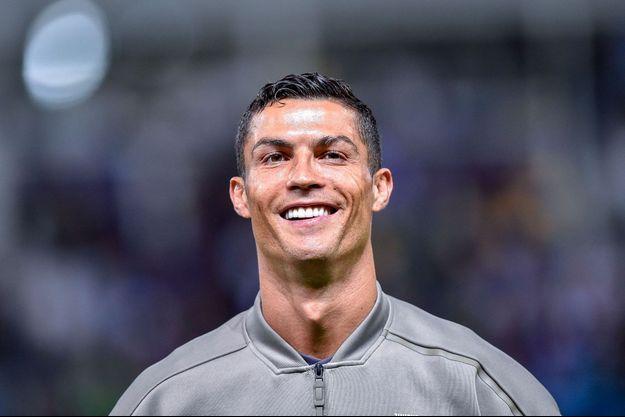 Cristiano Ronaldo en septembre 2018