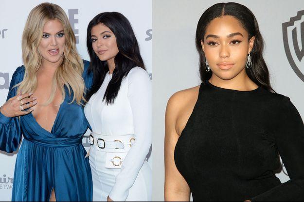 Khloé Kardashian, Kylie Jenner et Jordyn Woods