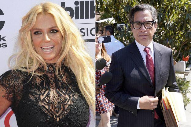 Britney Spears et Mathew Rosengart