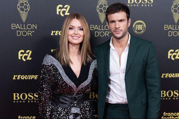 Caroline Receveur et Hugo Philip en novembre 2019, à Paris.