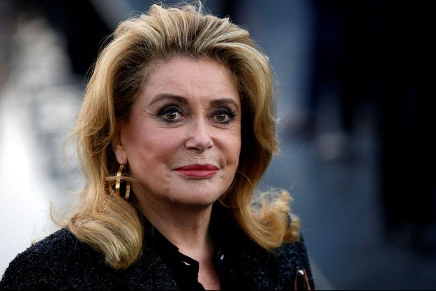 Catherine Deneuve en septembre 2018, à Paris.