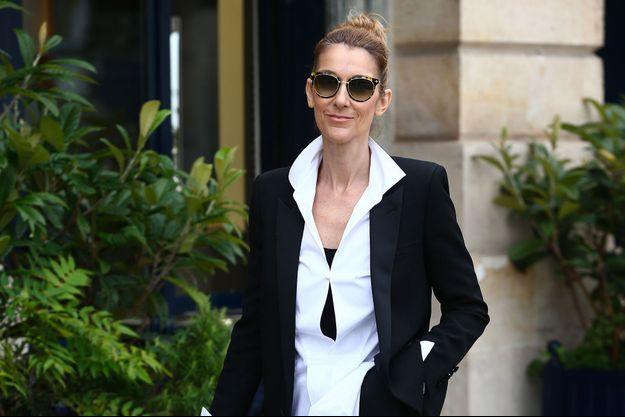 Céline Dion à Paris le 9 août 2017