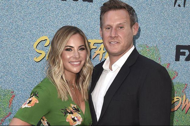 Trevor Engelson et sa fiancée Tracey Kurland en 2018