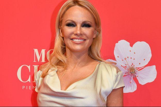 Pamela Anderson à Munich en décembre dernier.