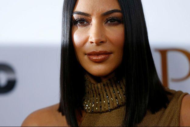 Kim Kardashian en avril 2017.