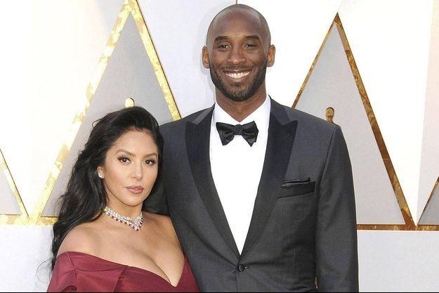 Vanessa Bryant et Kobe Bryant, en 2018.