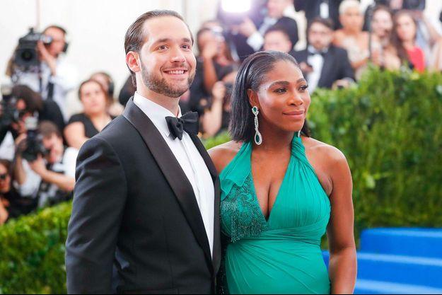 Alexis Ohanian et Serena Williams