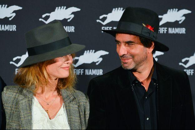 Vanessa Paradis et Samuel Benchetrit à Namur, le 5 octobre 2017