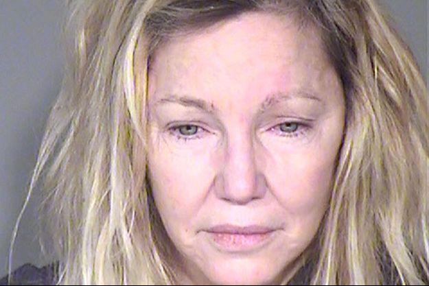 Heather Locklear après son arrestation en juin dernier.