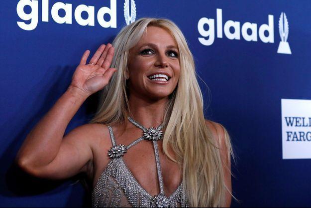 Britney Spears en avril dernier.