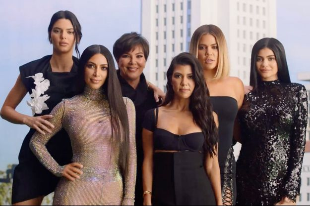 La famille Kardashian en 2017.