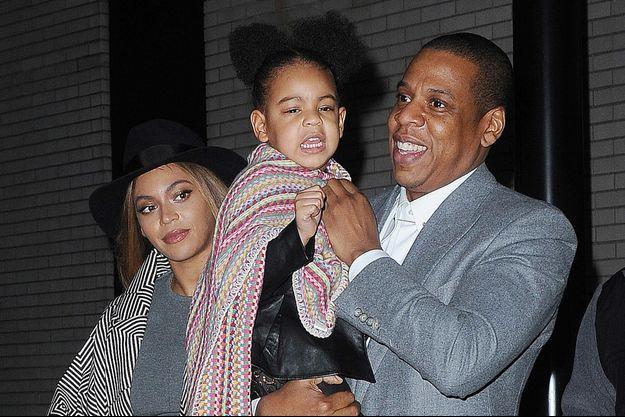 Beyoncé, Jay-Z et leur fille Blue Ivy