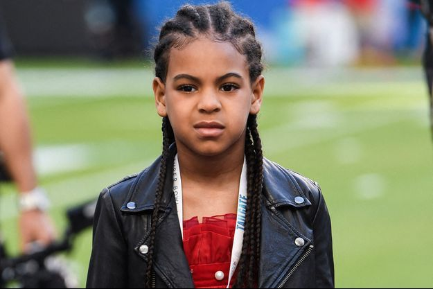 Blue Ivy au Super Bowl à Miami en février 2020