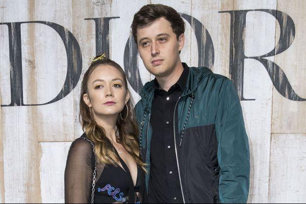 Billie Lourd et Austen Rydell en 2018