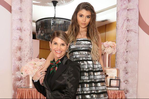 Lori Loughlin et sa fille Olivia Jade