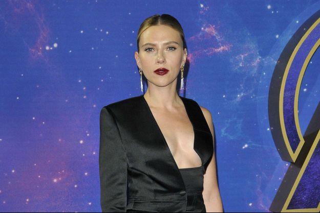 Scarlett Johansson le 10 avril 2019