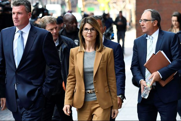 Lori Loughlin au tribunal de Boston le 3 avril 2019