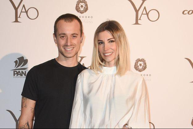 Hugo Clément et sa compagne Alexandra Rosenfeld.