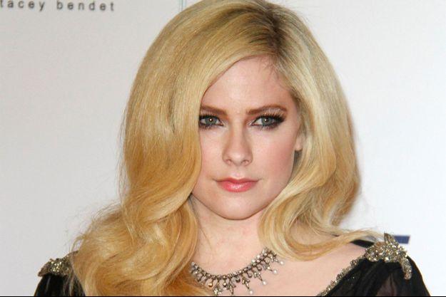Avril Lavigne à l'hôtel Beverly Hilton à Los Angeles le 20 avril 2018