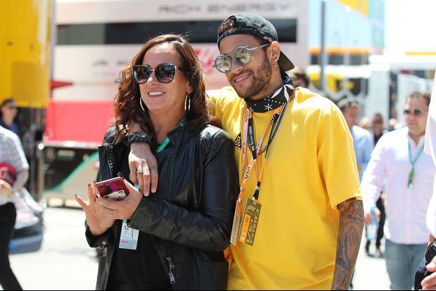 Nadine Goncalves et Neymar en 2019