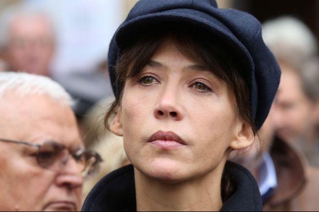 Sophie Marceau en octobre 2012.