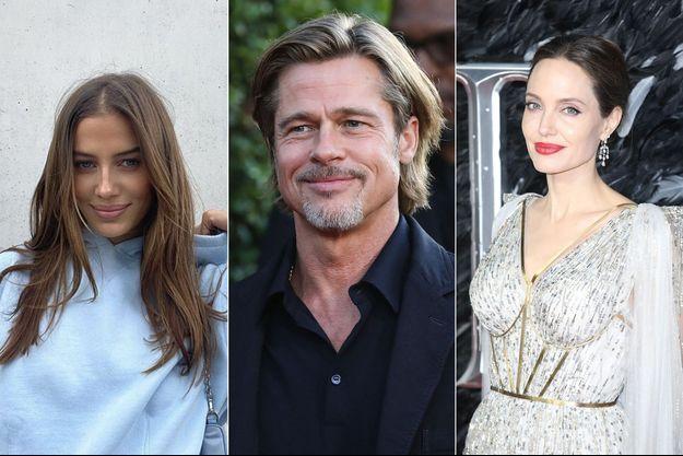 Nicole Poturalski, Brad Pitt et Angelina Jolie