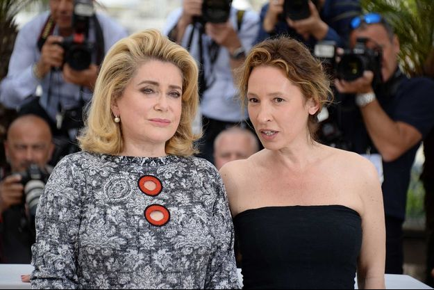 Catherine Deneuve et Emmanuelle Bercot.