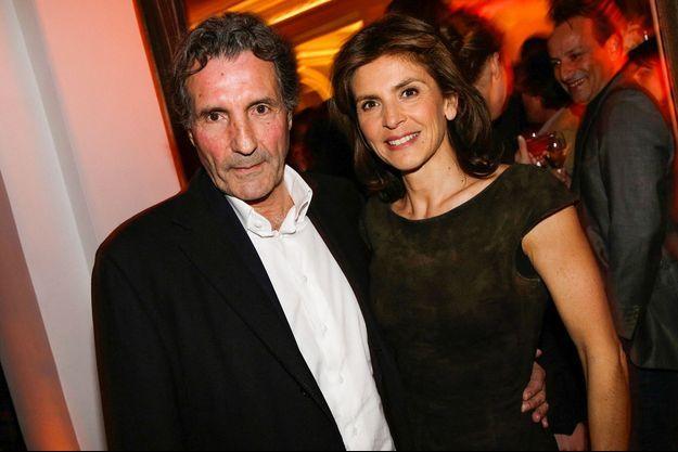 Jean-Jacques Bourdin et Anne Nivat en 2014.
