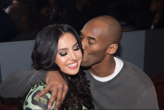 Vanessa et Kobe Bryant en 2016