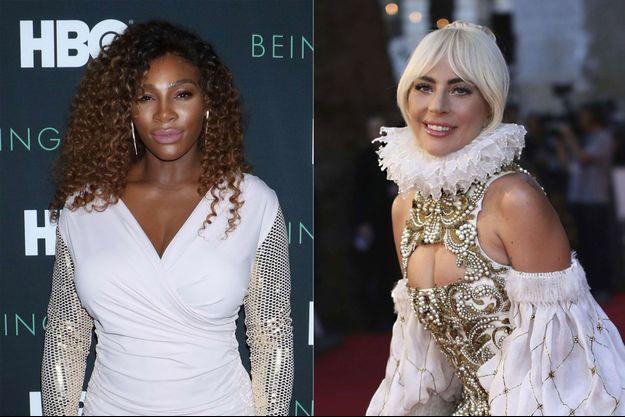 Serena Williams, Lady Gaga