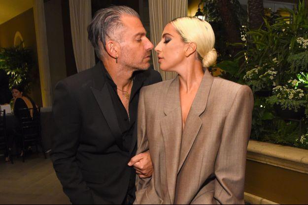Lady Gaga et Christian Carino, octobre 2018
