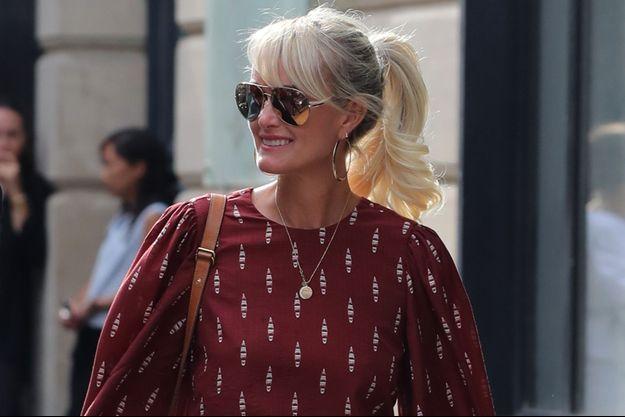 Laeticia Hallyday le 23 septembre 2019 à Paris.