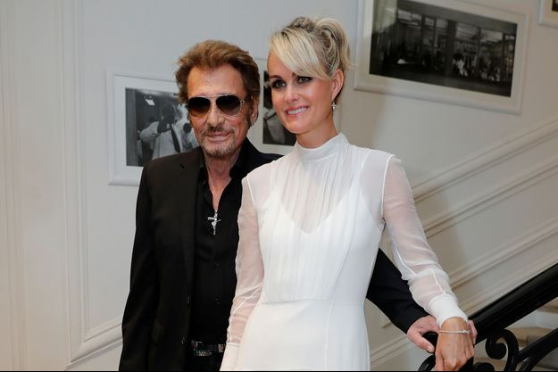 Johnny et Laeticia Hallyday en 2016