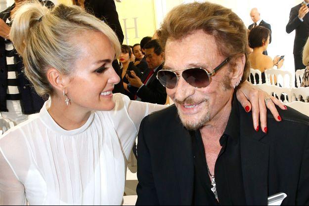 Johnny et Laeticia Hallyday au temps du bonheur.