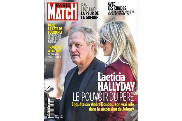 L'homme d'affaires et sa fille, à Paris.