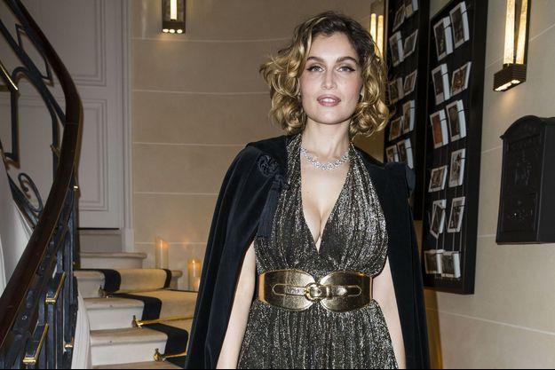 Laetitia Casta lors de la soirée de cocktail Boucheron à Paris, le 20 janvier 2019