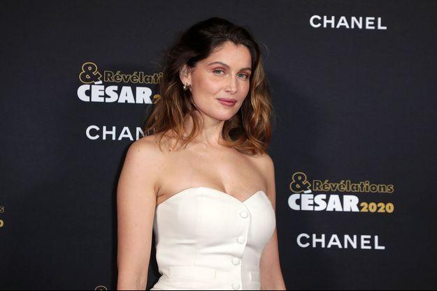 Laetitia Casta à Paris le 13 janvier 2020.