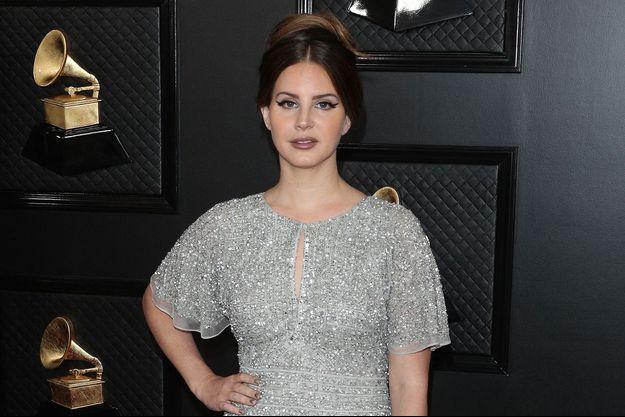 Lana Del Rey aux Grammy Awards en janvier 2020
