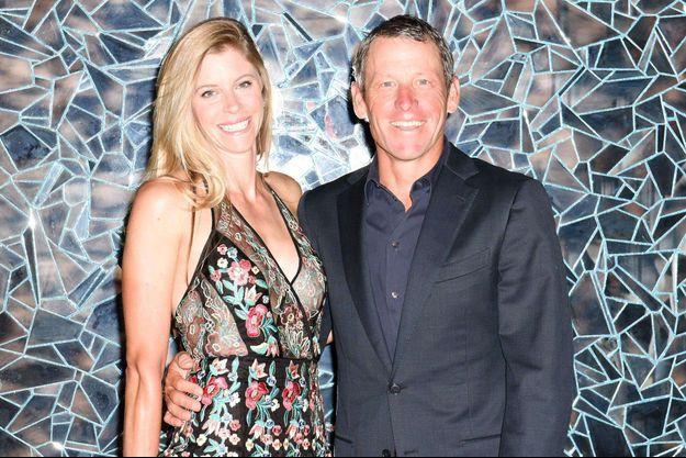 Anna Hansen et Lance Armstrong à Aspen aux Etats-Unis