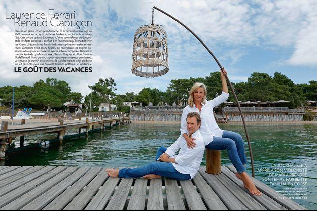 Du bleu et du blanc: une tenue de mousse pour ceux qui, chaque année, jettent l'ancre en Corse-du-Sud