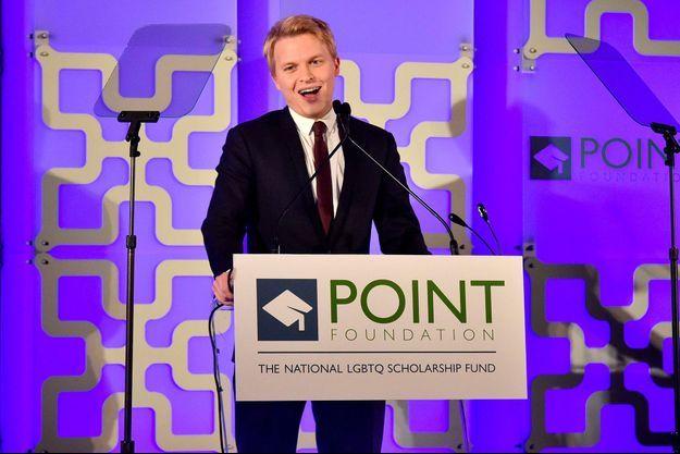 Ronan Farrow à la soirée organisée par Point Foundation lundi 9 avril