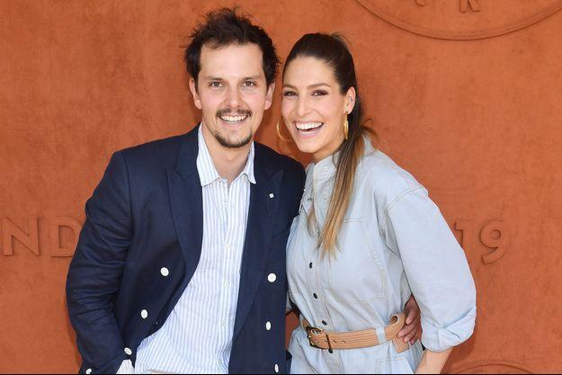 Laury Thilleman et Juan Arbelaez à Roland Garros en 2019