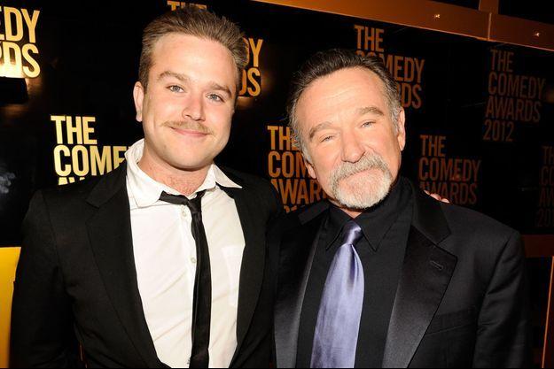 Zachary et Robin Williams